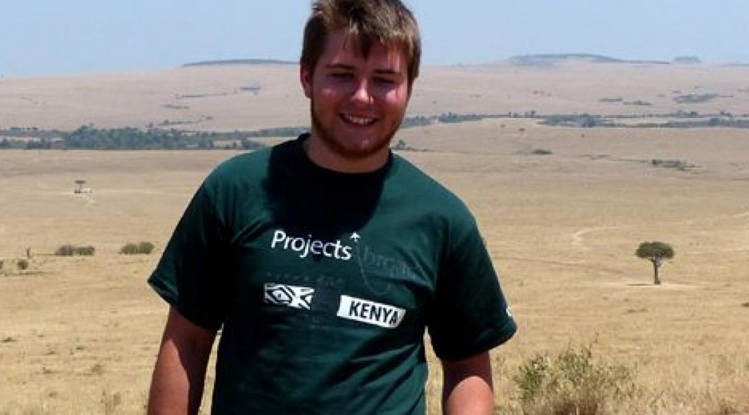 Josh B in Kenya